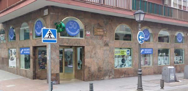 Óptica Leganés - Fachada actual