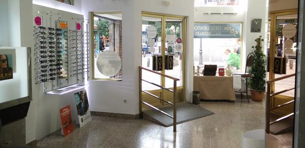 Óptica Leganés - Interior entrada